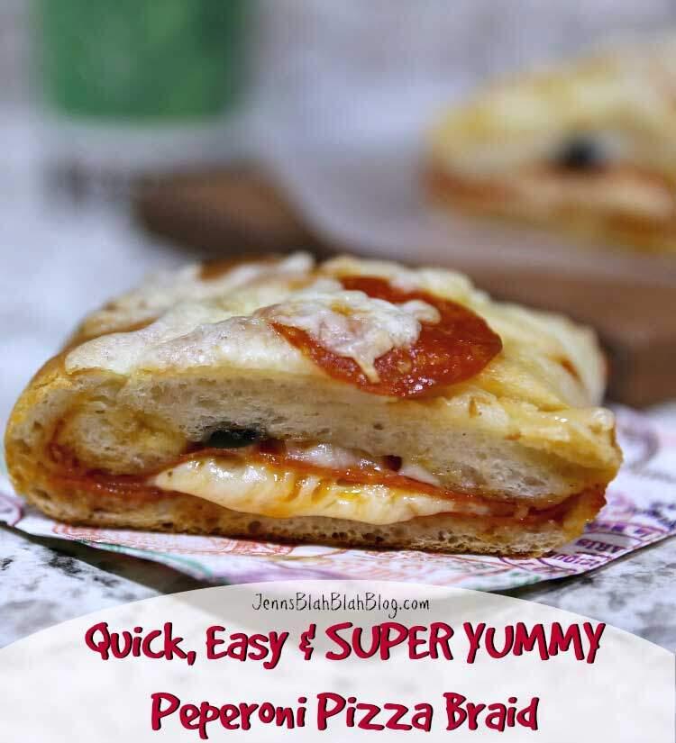 Quick & Easy Pepperoni Pizza Braid Recipe
