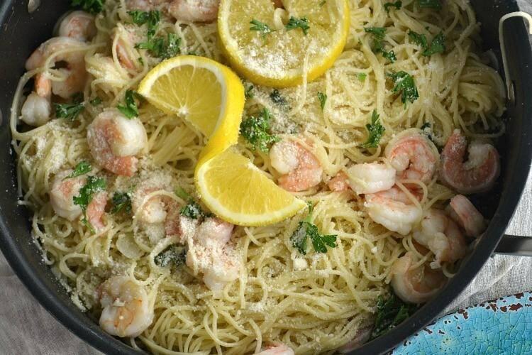 Shrimp Scampi Linguine Recipe