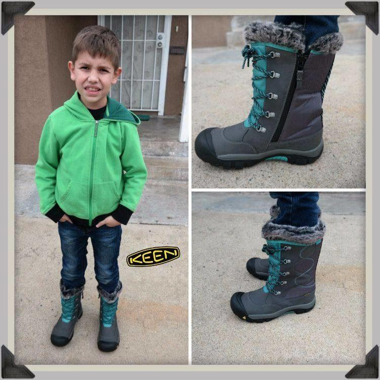 awesome boy wearing rocking boots