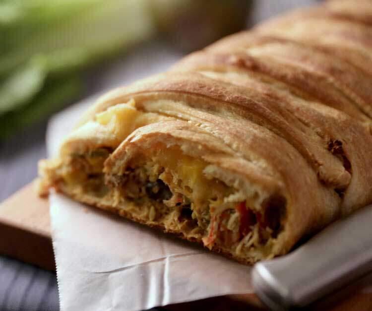 chicken taco braid recipe