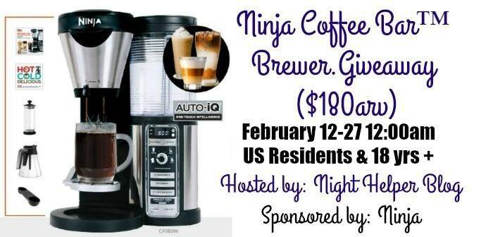 Ninja Coffee Bar Giveaway