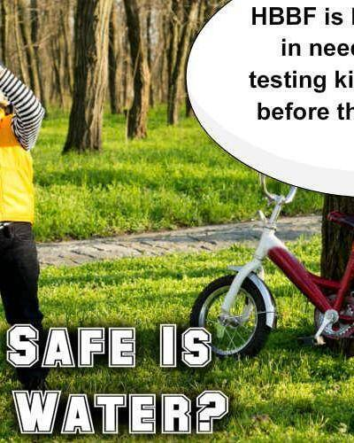 How Safe Is Your Tap Water?  Get Your Water Testing Kit Before They are Gone
