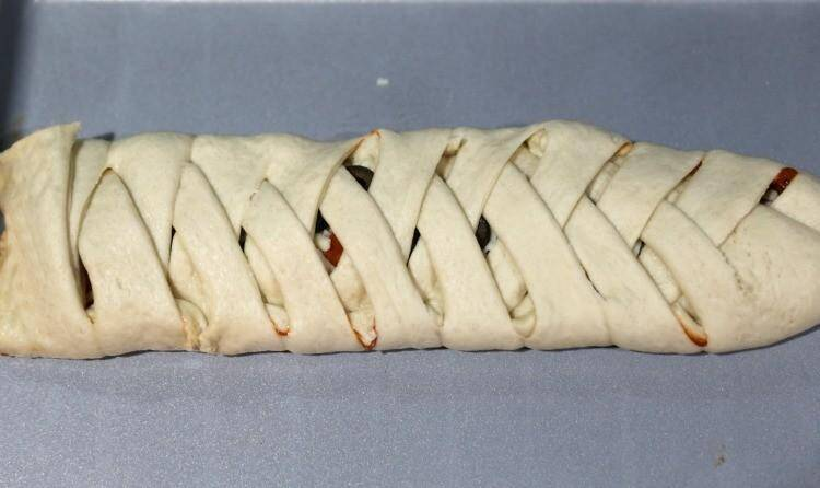 how to make pizza braid
