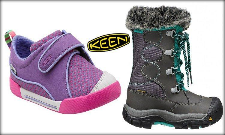 keen shoes collage
