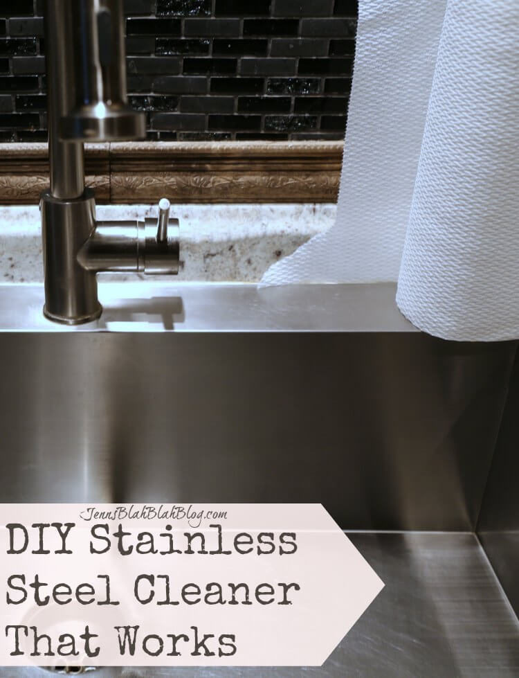 DIY Stainless Steel Cleaner That Works Fabulous