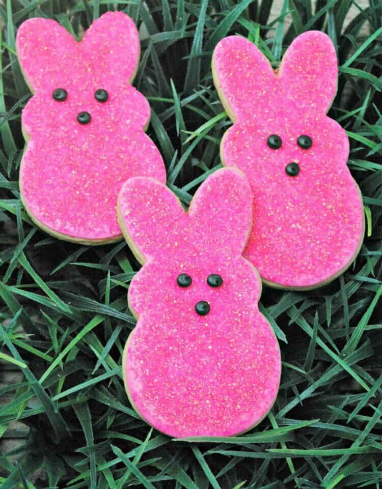 Pink Peeo Sugar Cookies Recipe