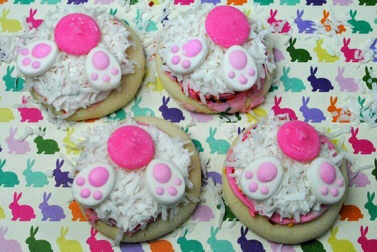 Cute & Easy Bunny Butt Cookies