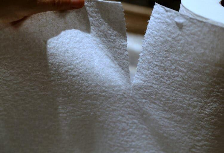 soft paper towels for cleaning