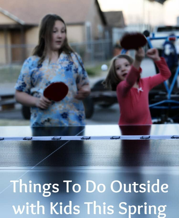 Things to do outside with kids this spring and summer