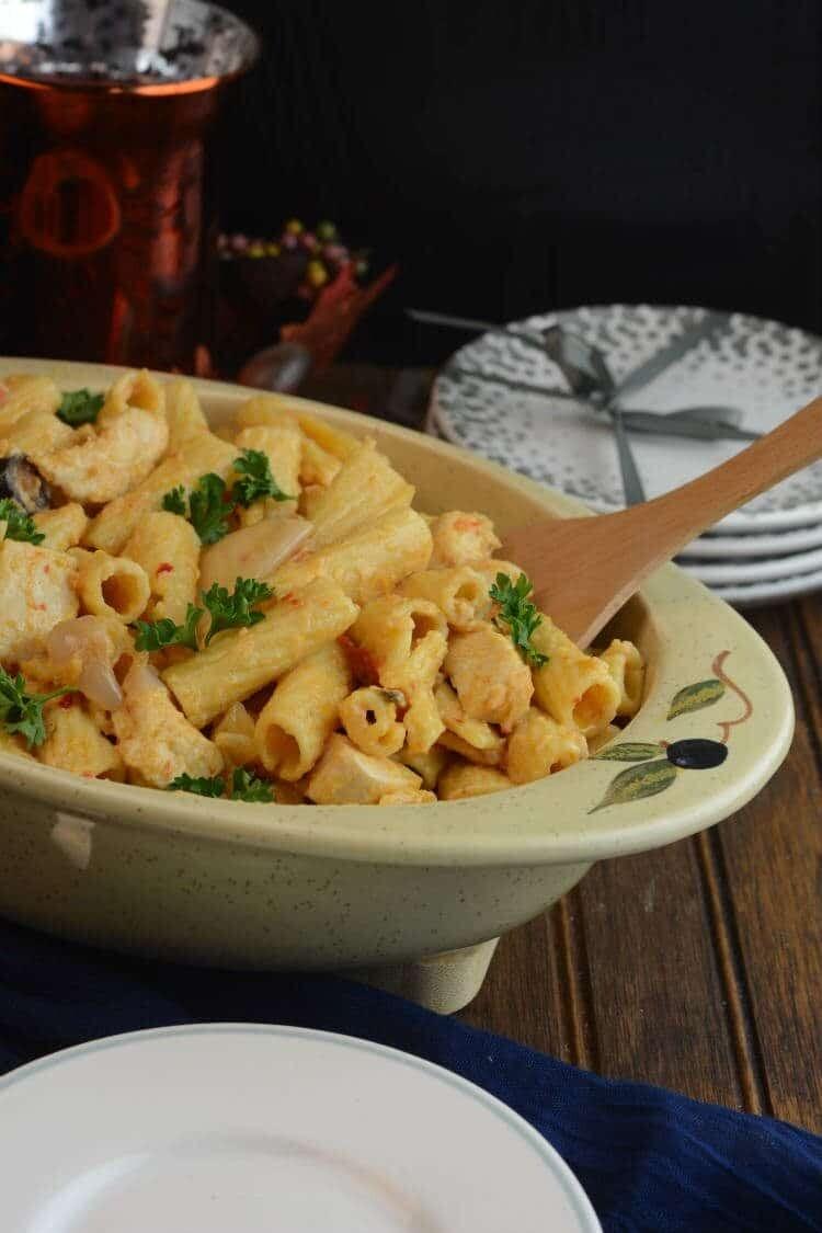 Yummy Chicken Riggies Recipe