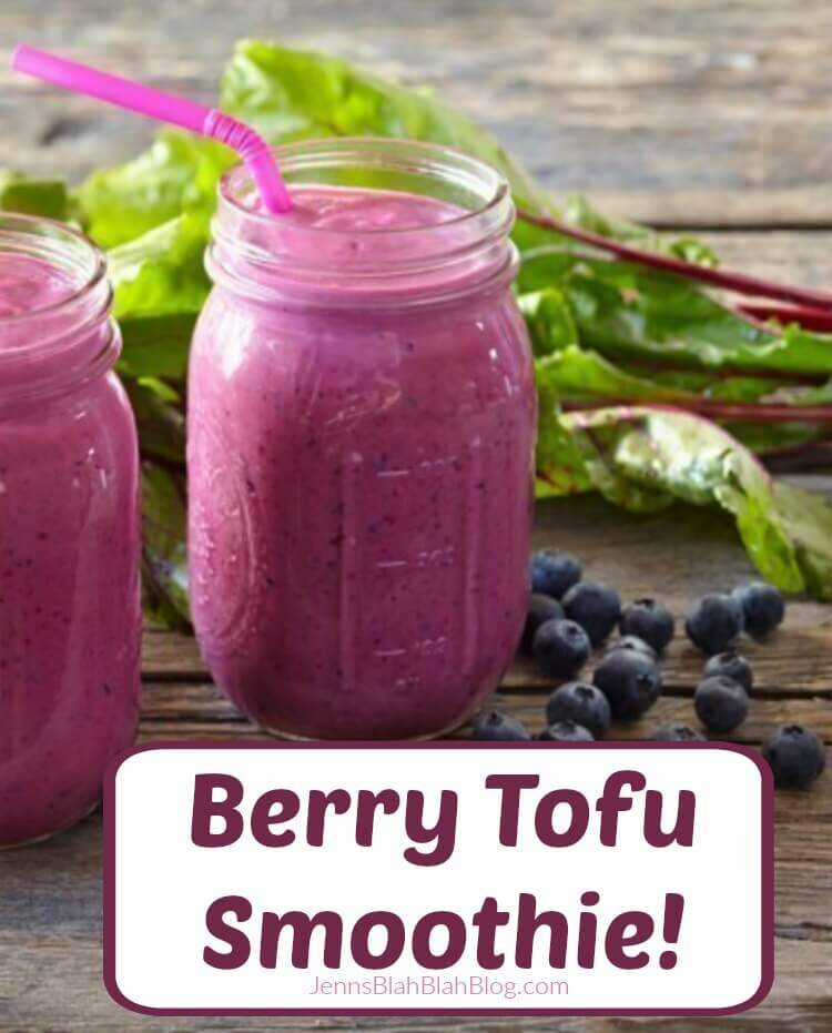 berry tofu smoothie