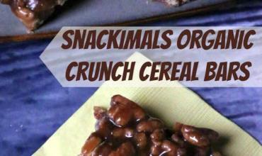 Snackimals Easy No Bake Organic Crunchy Cereal Bars
