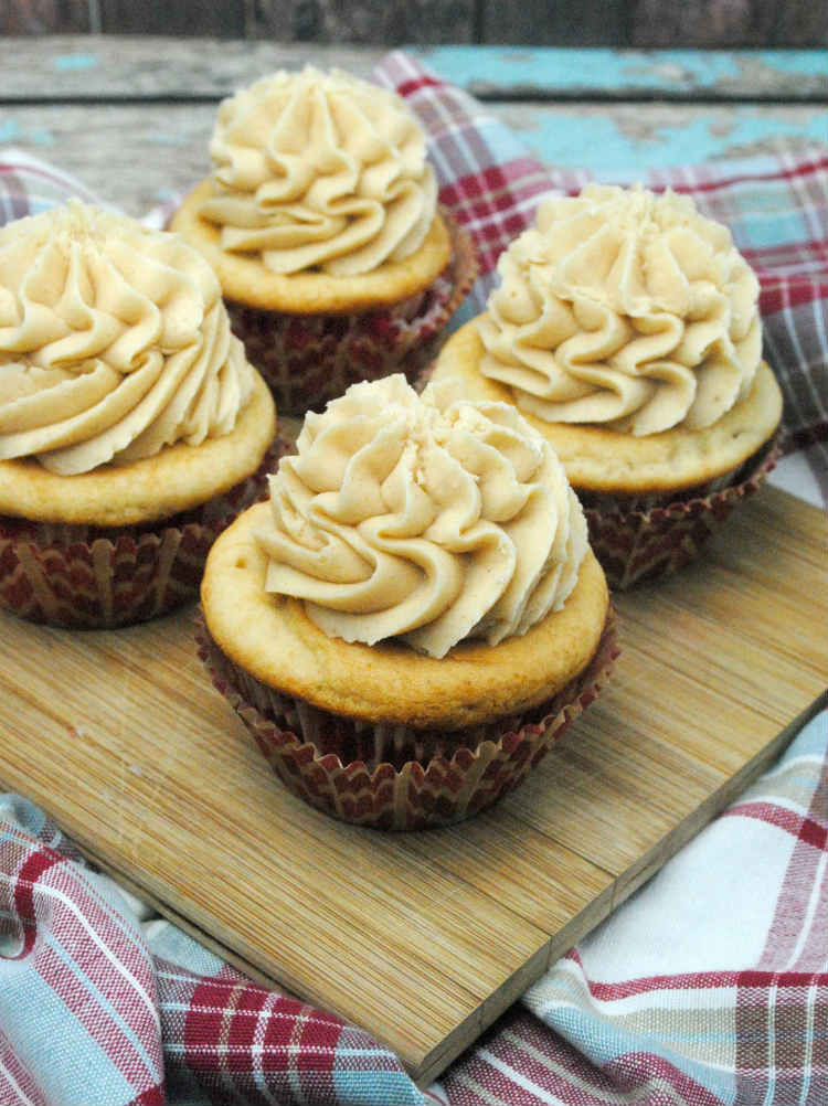 Peanut Butter Cupcakes Recipe