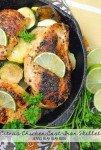 Citrus Chicken Cast Iron Skillet