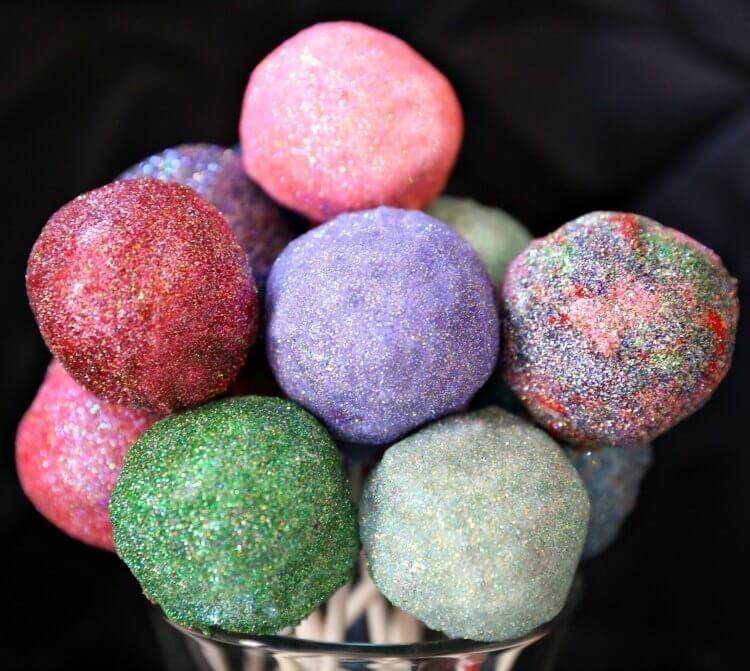 Star Darling Glitter Cake Pops