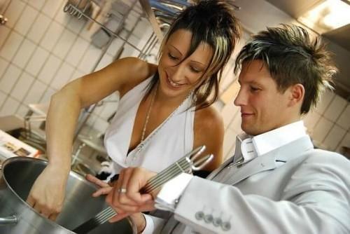 moto cook couple