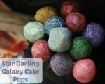Star Darlings Glitter Cake Pops
