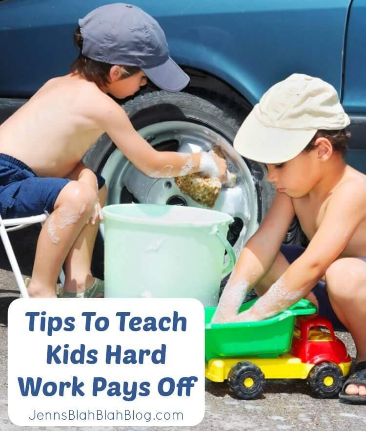 Tips To Teach Children Hard Work Pays Off