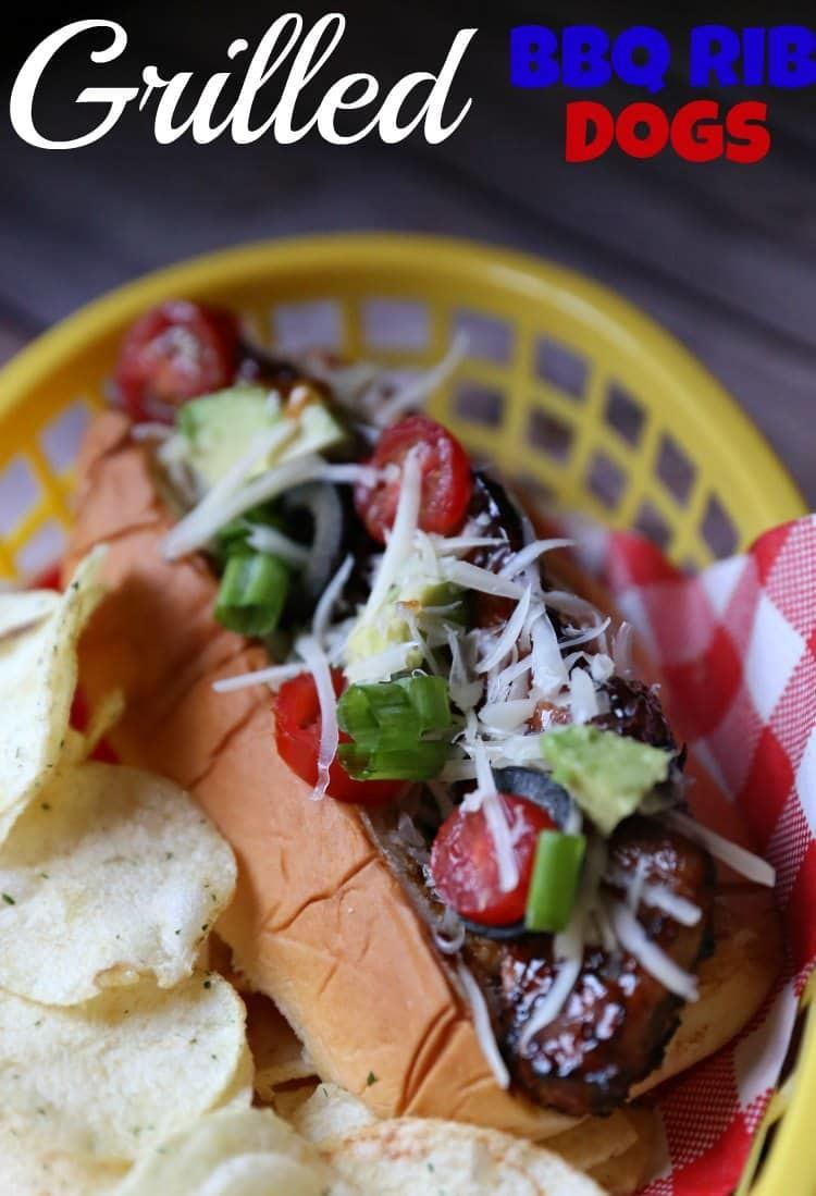 Grilled BBQ Country Style Ribs Dog Recipe