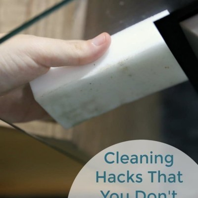 Cleaning Hacks You Don't Want To Miss
