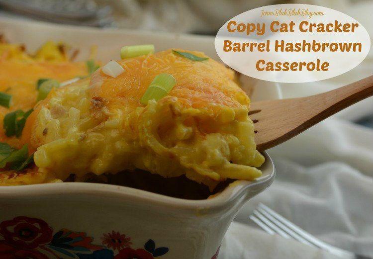 copy cat cracker barrel hashbrown casserole recipe