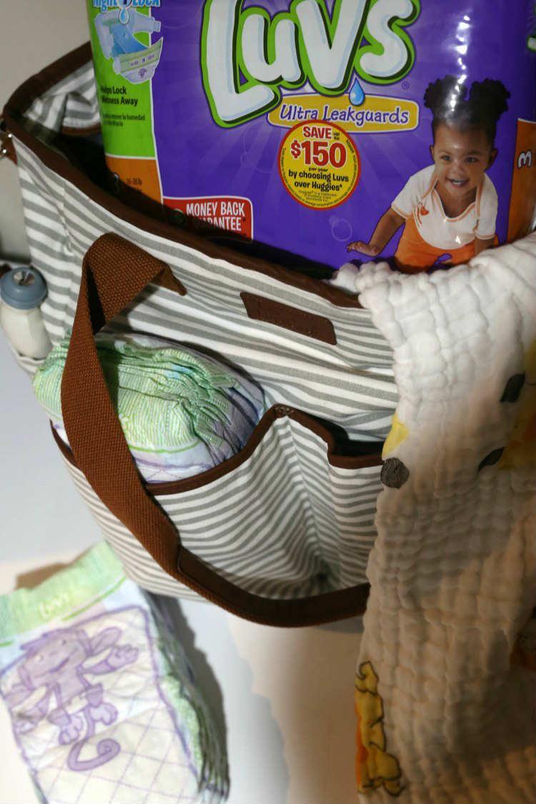 Luvs-Diapers-In-Diaper-Bag