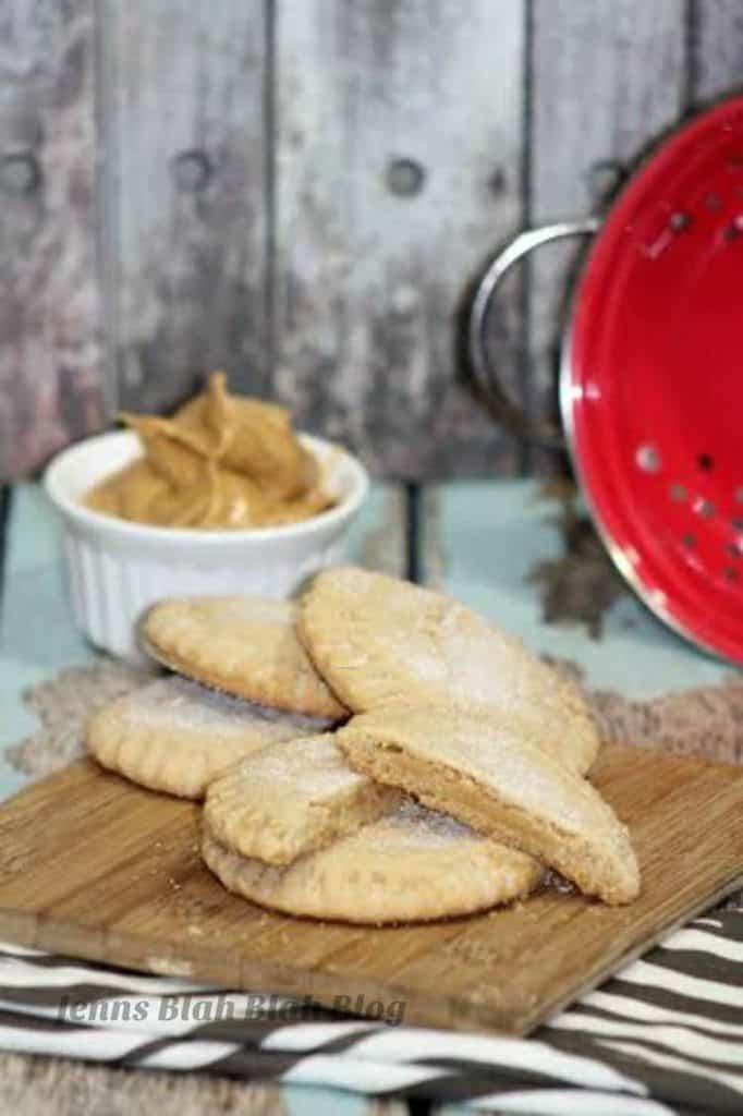 Peanut Butter Filled Peanut Butter Cookies 1
