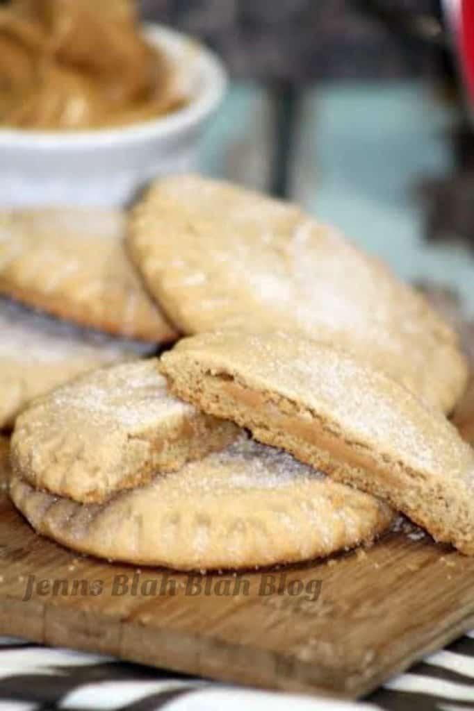 Peanut Butter Filled Peanut Butter Cookies 2