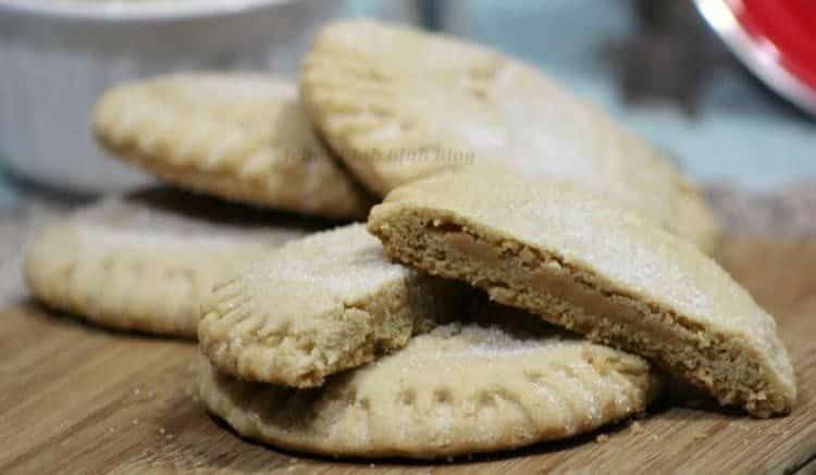 Peanut Butter Filled Peanut Butter Cookies 4