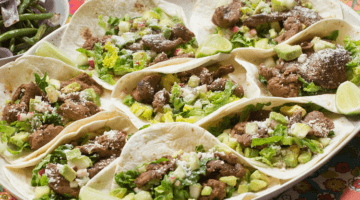 Beef Tacos & Roasted Green Beans from Blue Apron & You Get Two Meals FREE!