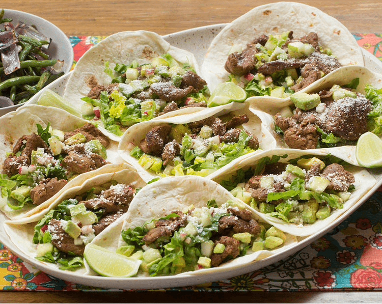 Beef Tacos & Roasted Green Beans