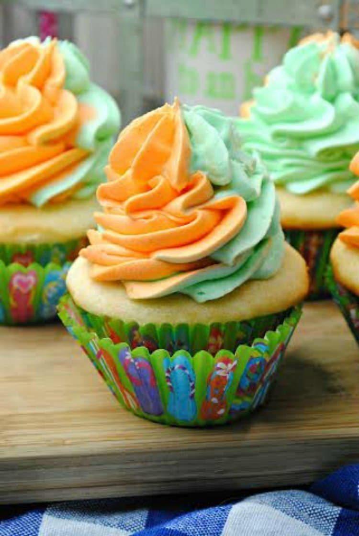 Sherbet Cupcakes 1