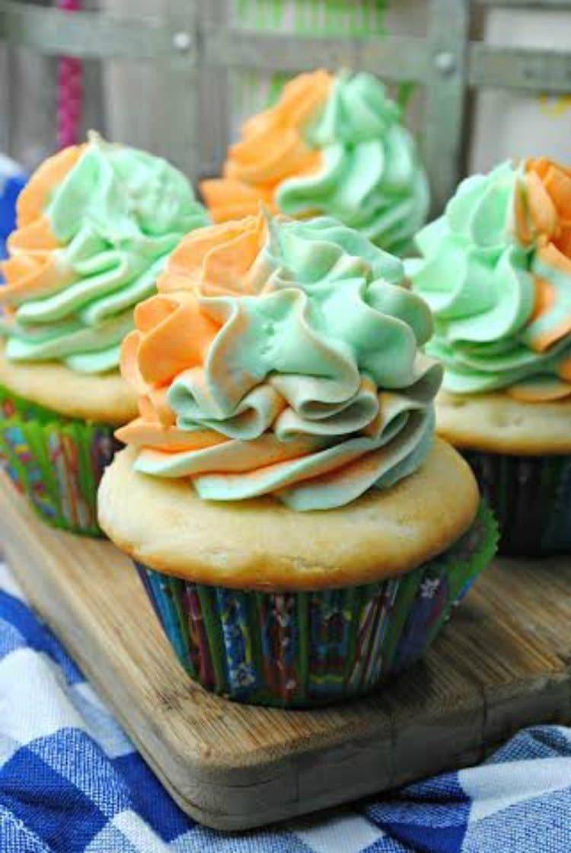 Sherbet Cupcakes