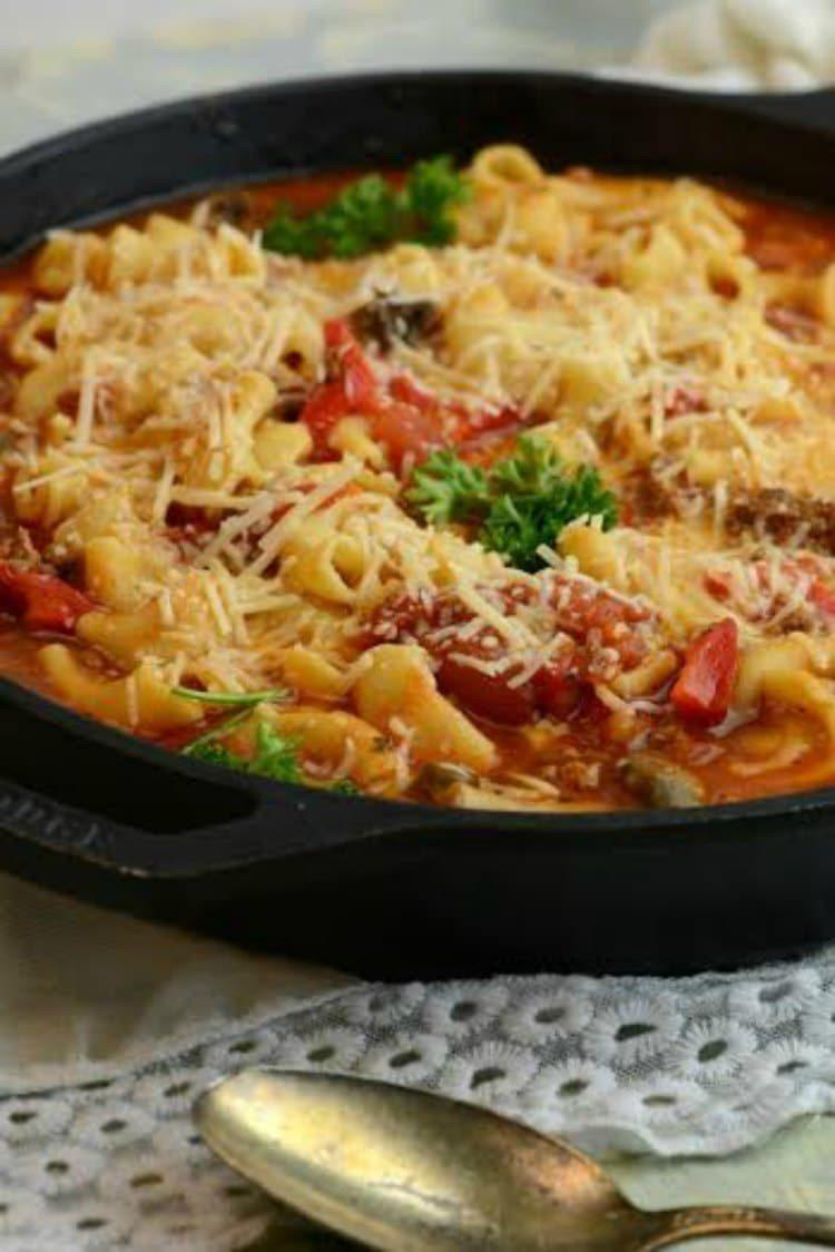 Delicious Skillet Goulash Recipe 2