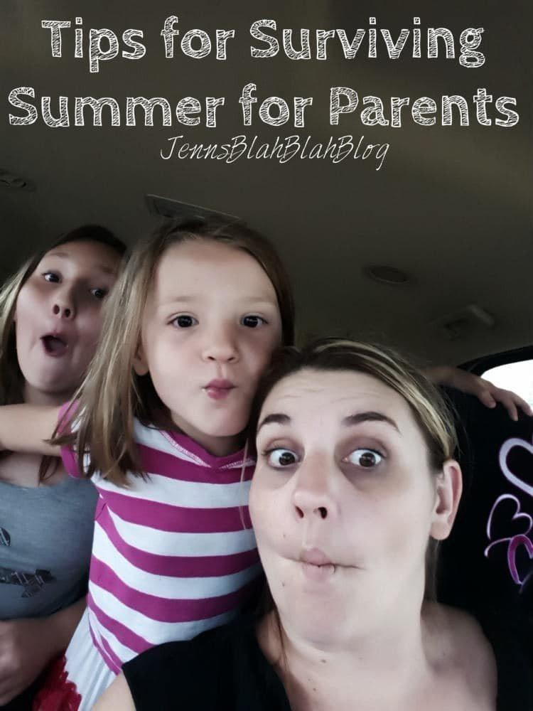 Tips to Survive Summer for Parents