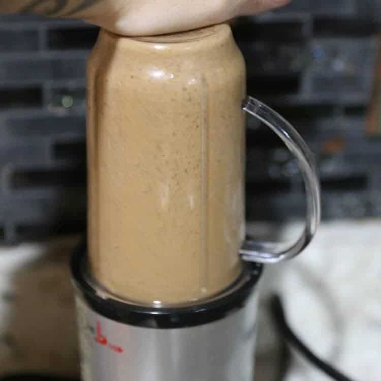 Peanut Butter Chocolate Protein Coffee Smoothie