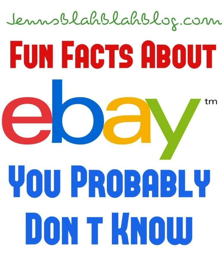 Fun Facts About eBay Your Probably Don't Know