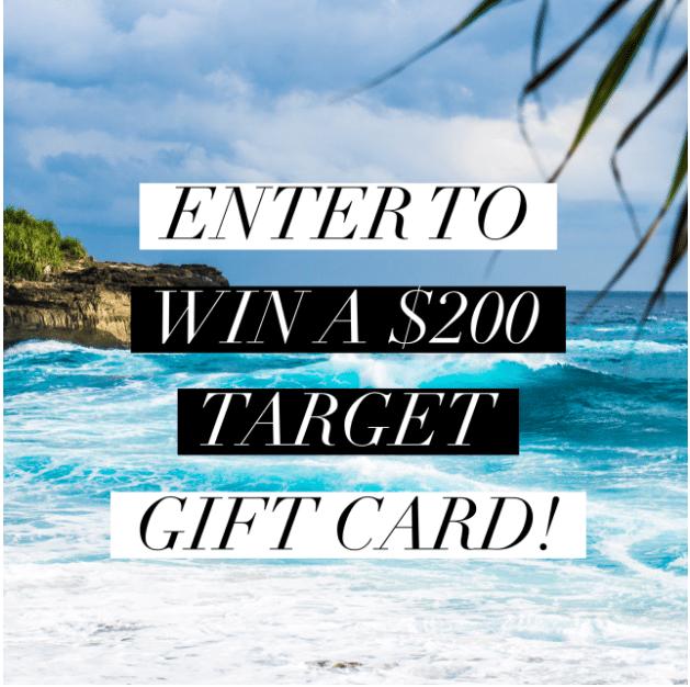 August Target Insta Giveaway
