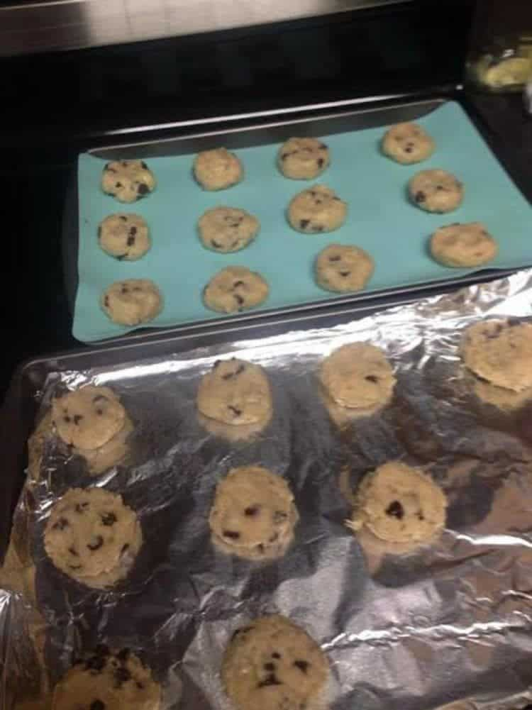 Banana and Chocolate Chip Cookies 3