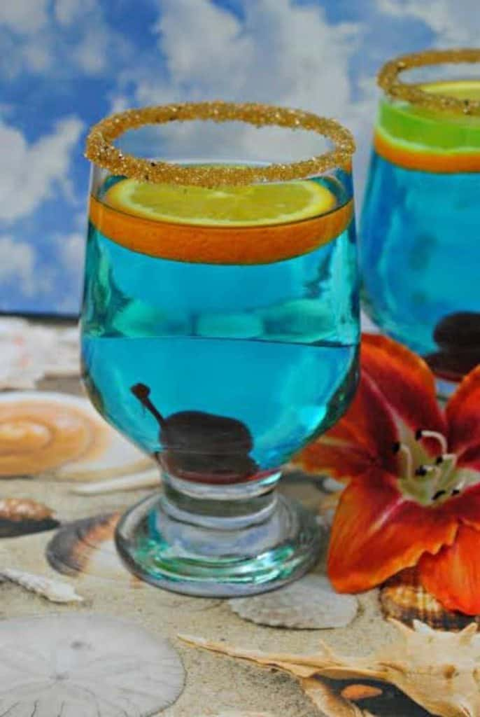 Blue Hawaiian Cocktail Jenns Blah Blah Blog