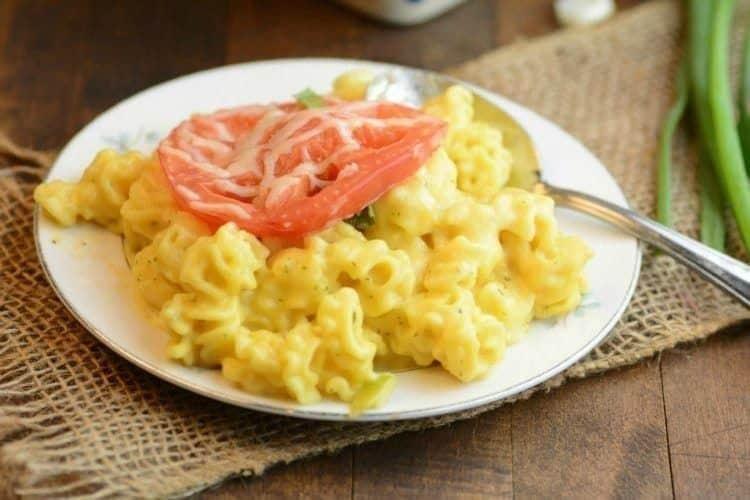Cheesy Buffalo Ranch Mac & Cheese Recipe