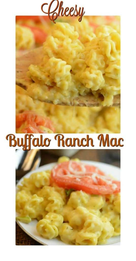 Cheesy Buffalo Ranch Mac & Cheese
