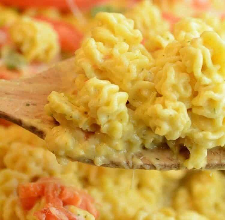 Cheesy Buffalo Ranch Mac recipe