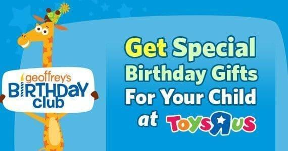 Geoffrey's Birthday Club: How To Sign Up