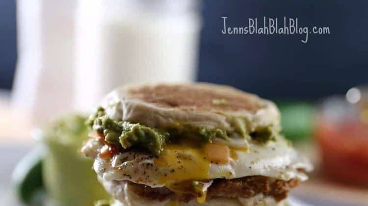 Delicious Huevos Rancheros Breakfast Sandwich