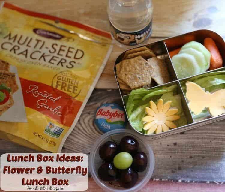 Lunch Box Ideas: Flowers & Butterfly Lunch Box