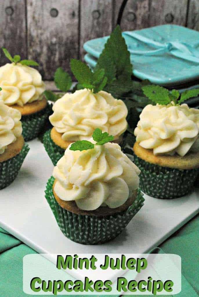 Mint Julep Cupcakes Recipe JennsBlahBlahBlog