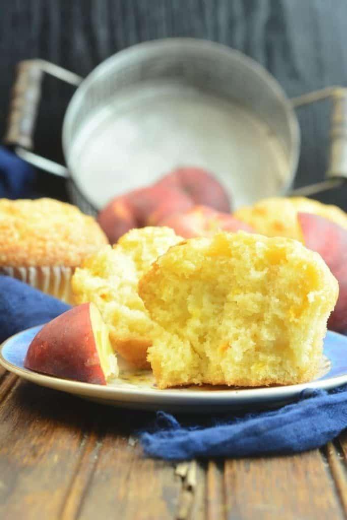 Moist & Delicious Peach Muffins Recipe