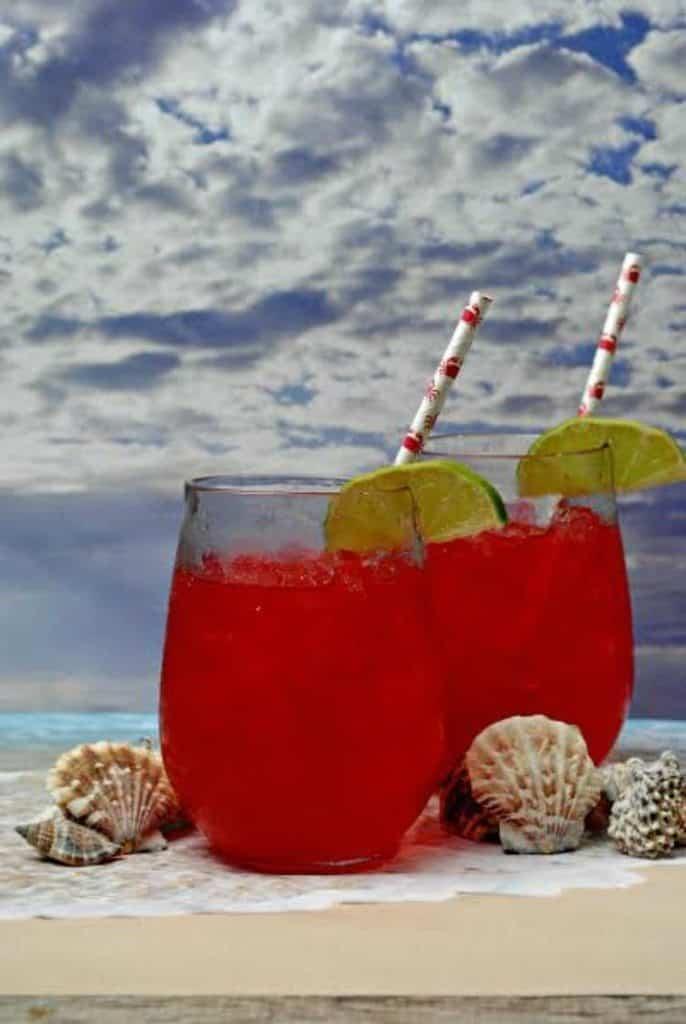 Sea Breeze Mocktail 1