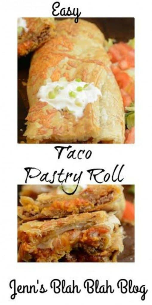 Quick & Easy Taco Pastry Roll Recipe